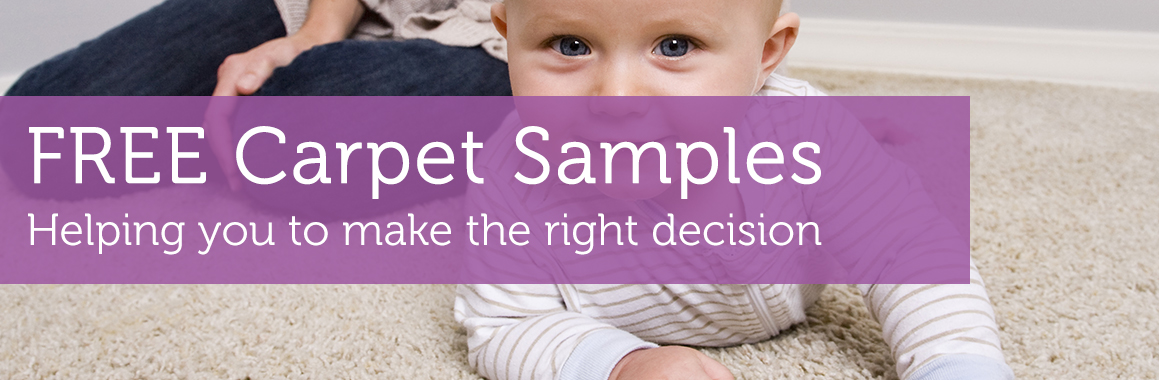 Free carpet samples sent directly to you