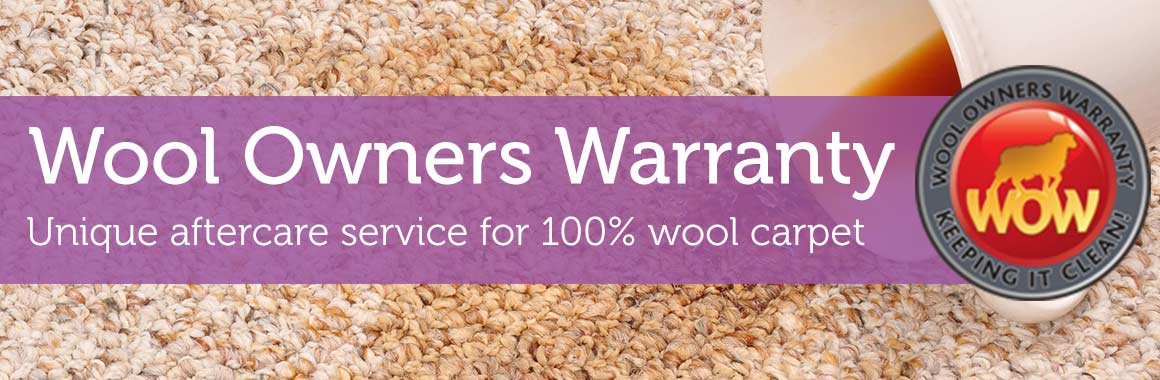 Wool Owners Warranty Carpet