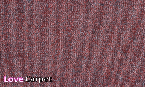 Berry from the Triumph Loop Carpet Tiles range