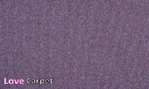 Lilac from the Triumph Loop Carpet Tiles range