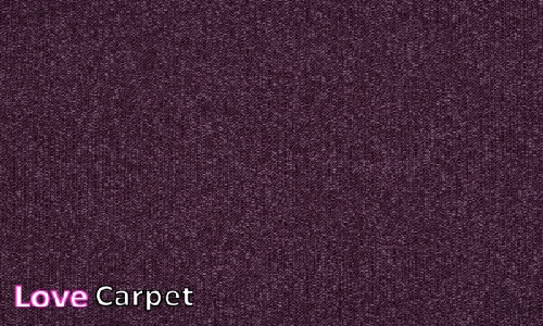 Mauve from the Triumph Loop Carpet Tiles range
