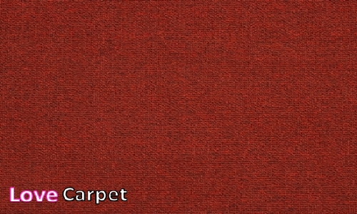 Red from the Triumph Loop Carpet Tiles range