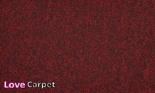 Scarlet from the Triumph Loop Carpet Tiles range